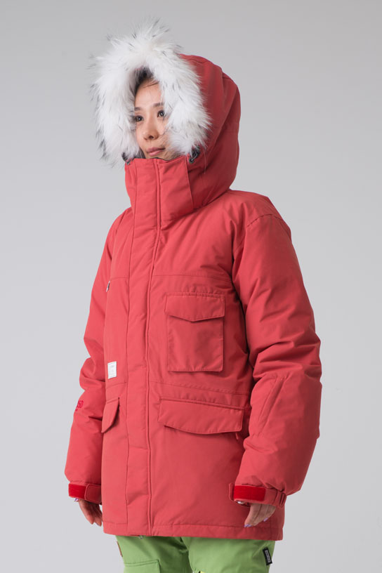 1415 50:50 Grind WannaBe Down Jacket (Red)
