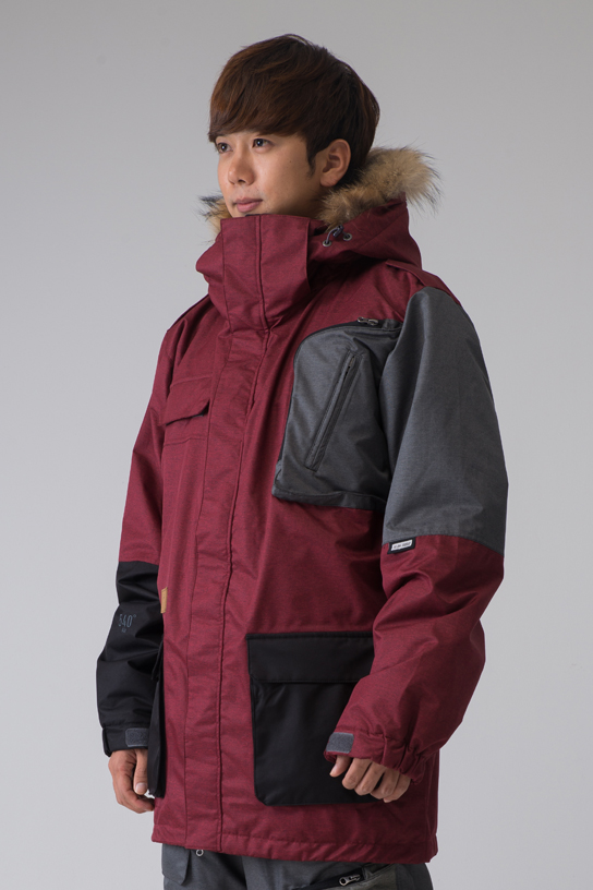 1415 540˚ Air Classic Jacket (Red Patch)