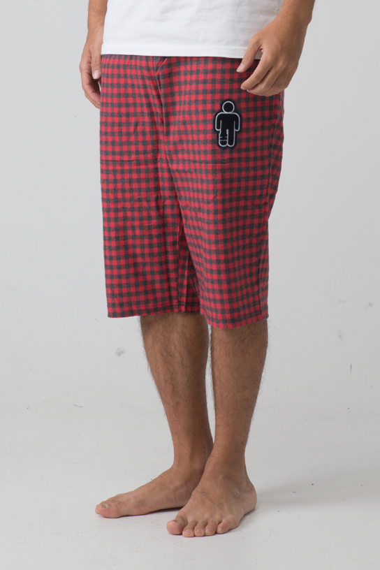 2015 Pajama Pant - Short (Red)