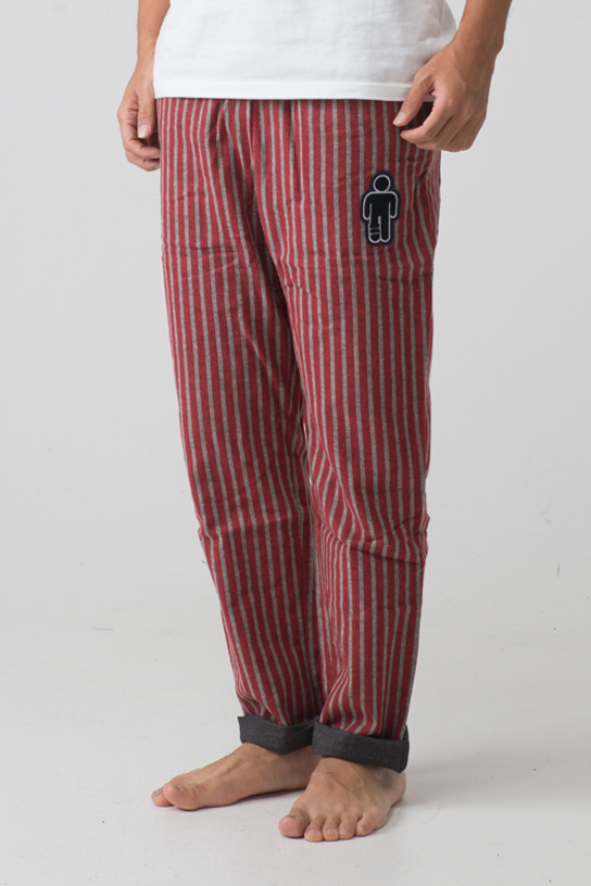 2015 Pajama Pant - Long  (Red)