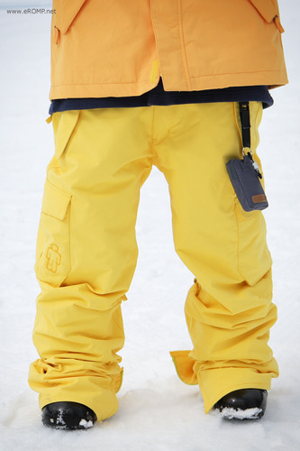 2013 180˚ Switch Pant - yellow