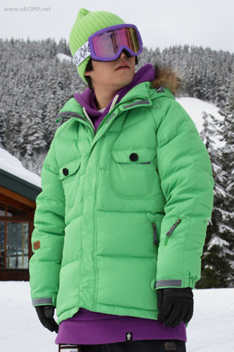 1112 50:50 Grind Down Jacket - Green