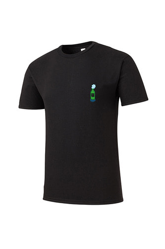 drunken T-shirt (black)