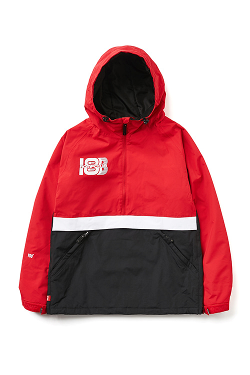 EI 900 JKT  Anorak Red / Black