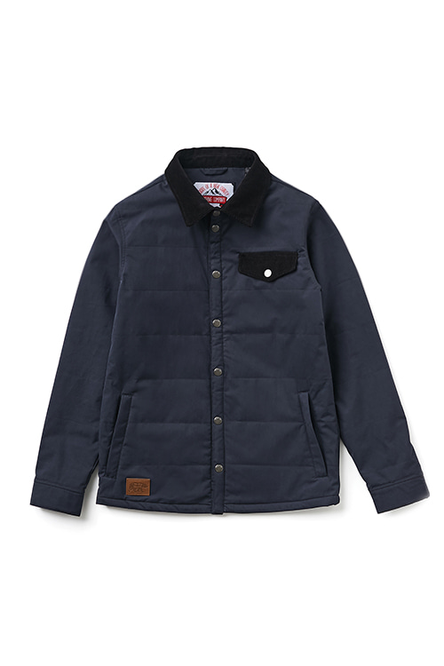 EI QUILTING JKT  Specifications Navy / Black