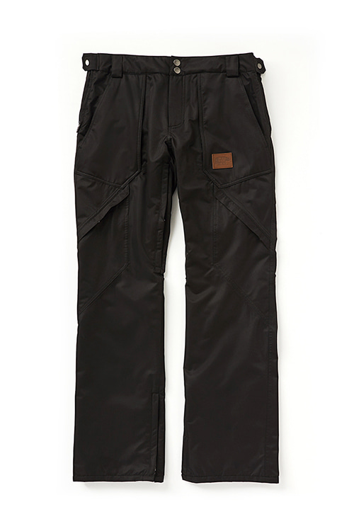 EI 720 PANT Slim Straight Fit  Black / Black