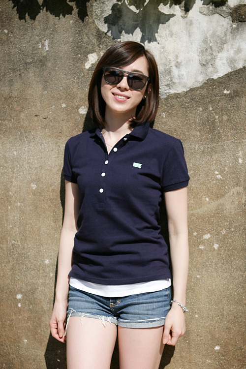Polo Shirt_Women (Navy)