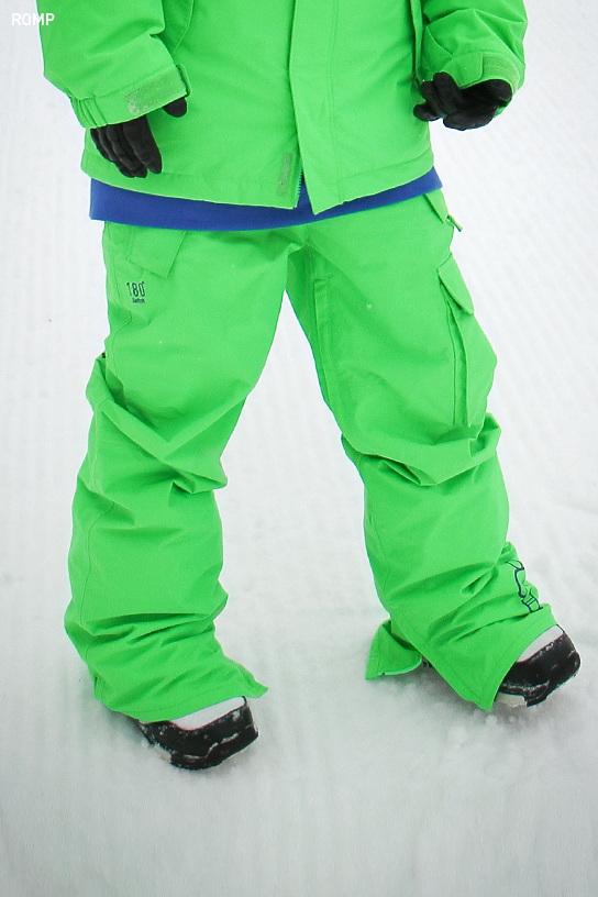 2014 180 ˚ Switch Pant Neon Green