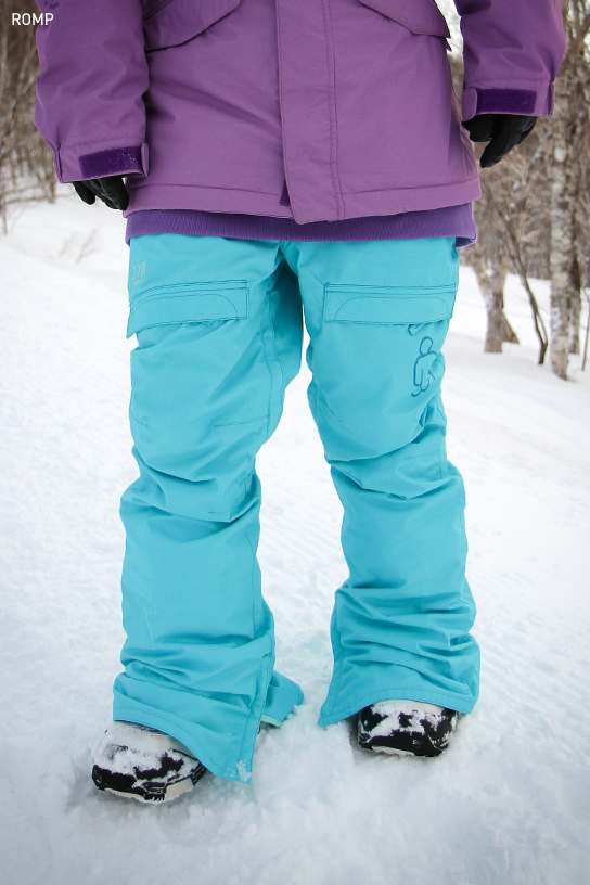 2014 270 ˚ Spin Pant Turquoise