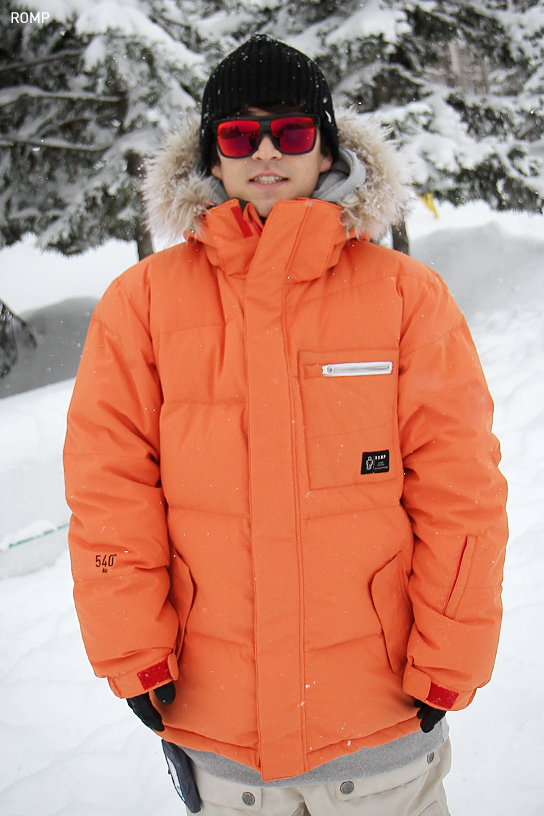 1314 540 ˚ Air Down Jacket Pumpkin