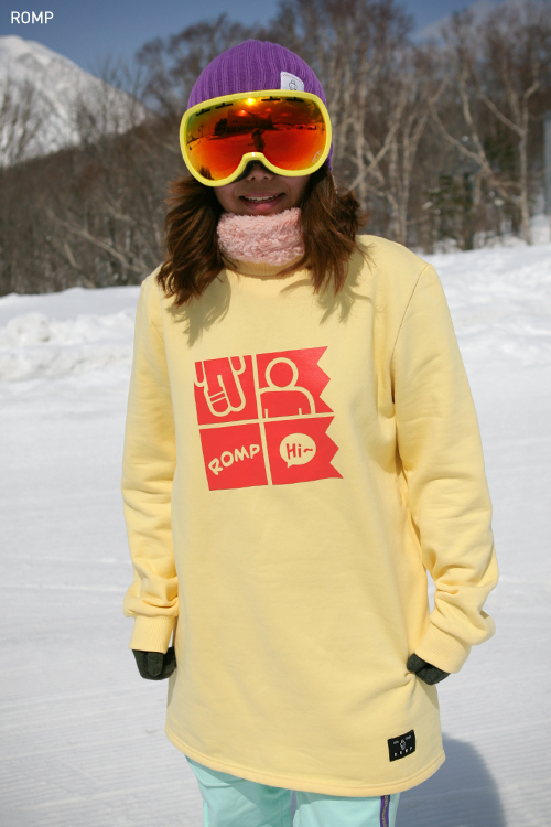 1314 SNOW Crewneck Tall Sweatshirt Cream