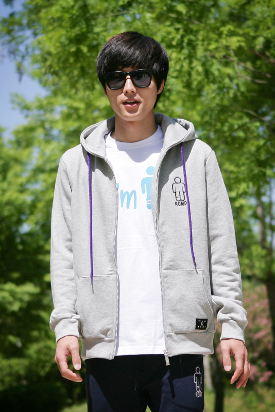 1314 Zip Up Hoodie Grey