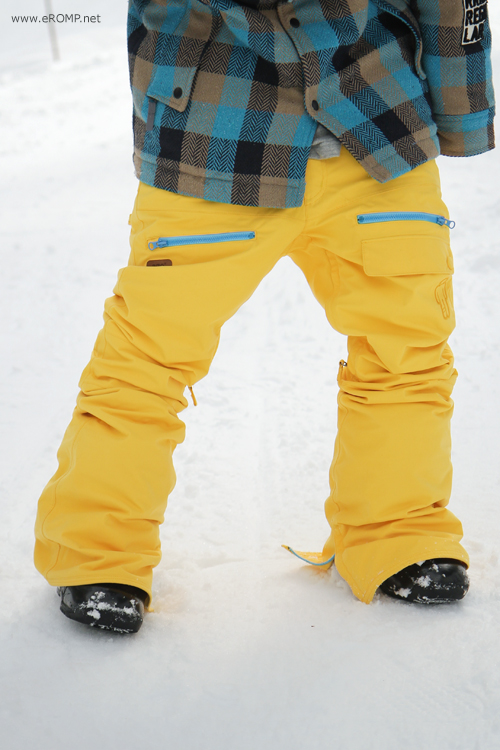2013 270 ˚ Spin Pant - Yellow