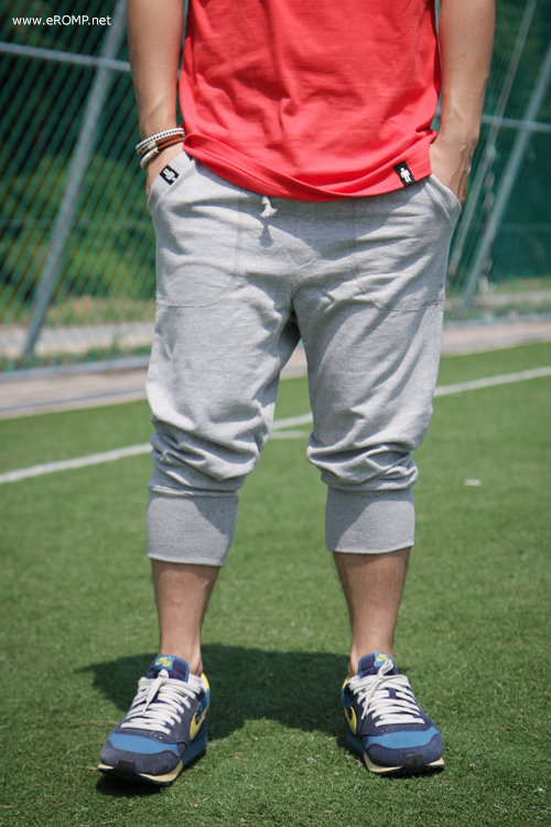 Baggy Training Pant - Grey