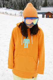 2012 Kangaroo Tall Hoodie - Orange