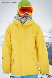 1213 180 ˚ Switch Jacket - Yellow