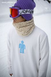 2013 SNOW Crew-Neck Sweatshirt - White