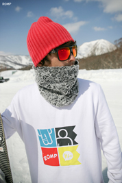 1314 SNOW Crewneck Tall Sweatshirt White